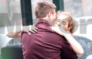 Amanda e Raffaele sollecito martedì 18 giugno 2013, New York. Esclusiva del Daily Mirror