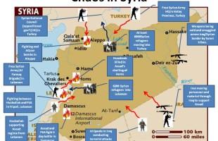 Caos in Siria