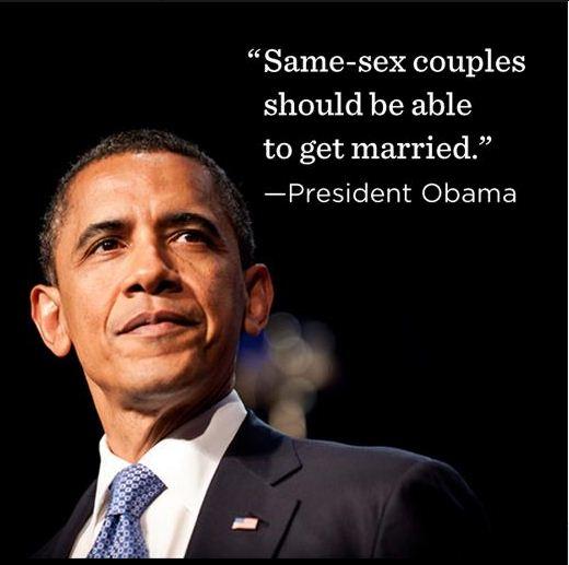 Pres Obama Gay Marriage