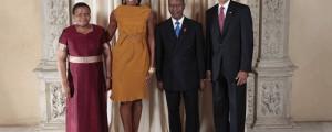 Pakalitha Mosisili Barack Obama