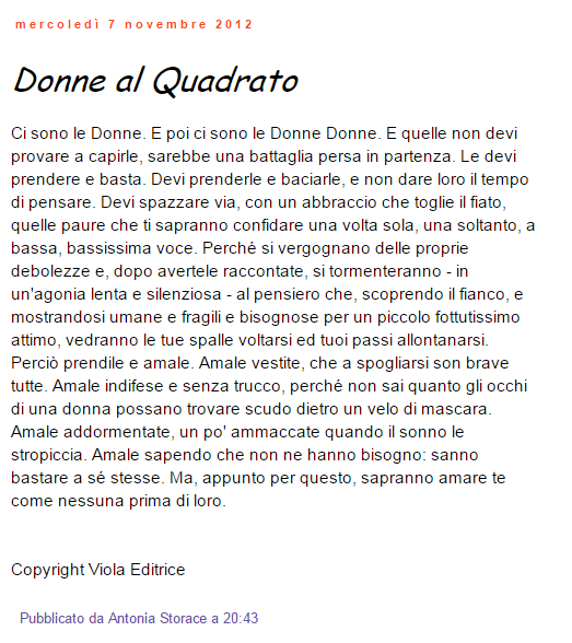 donne al quadrato you-ng.it antonia storace