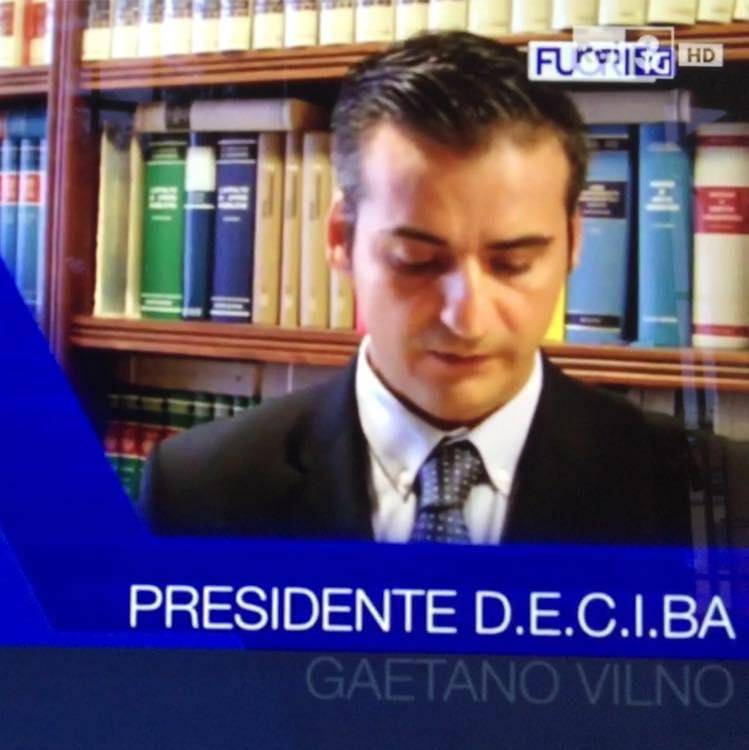Gaetano Vilnò, Presidente Deciba