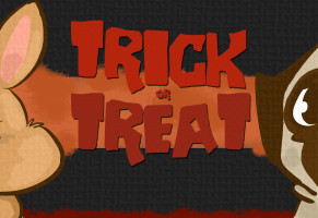 Trick or Treat? Video cartoon divertente di Halloween