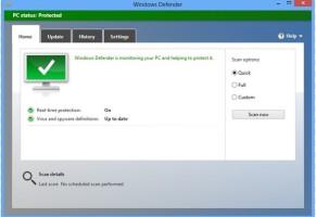 Come impostare Windows 8 Defender per eseguire automaticamente la scansione programmata