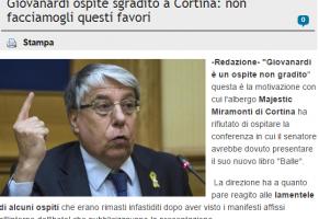 Media e disinformazione: il caso Giovanardi